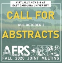 2020 Fall AERS-SEERS Joint Meeting: Call for Abstracts